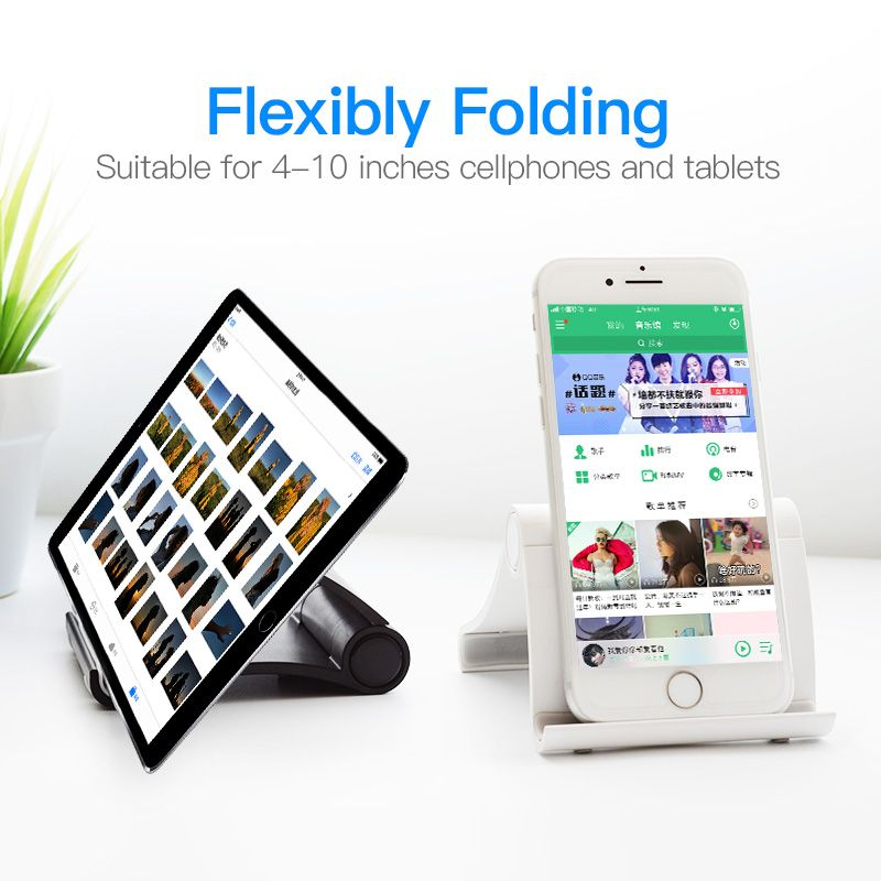 awesome Vention Mobile Phone Holder For iPhone iPad Xiaomi
