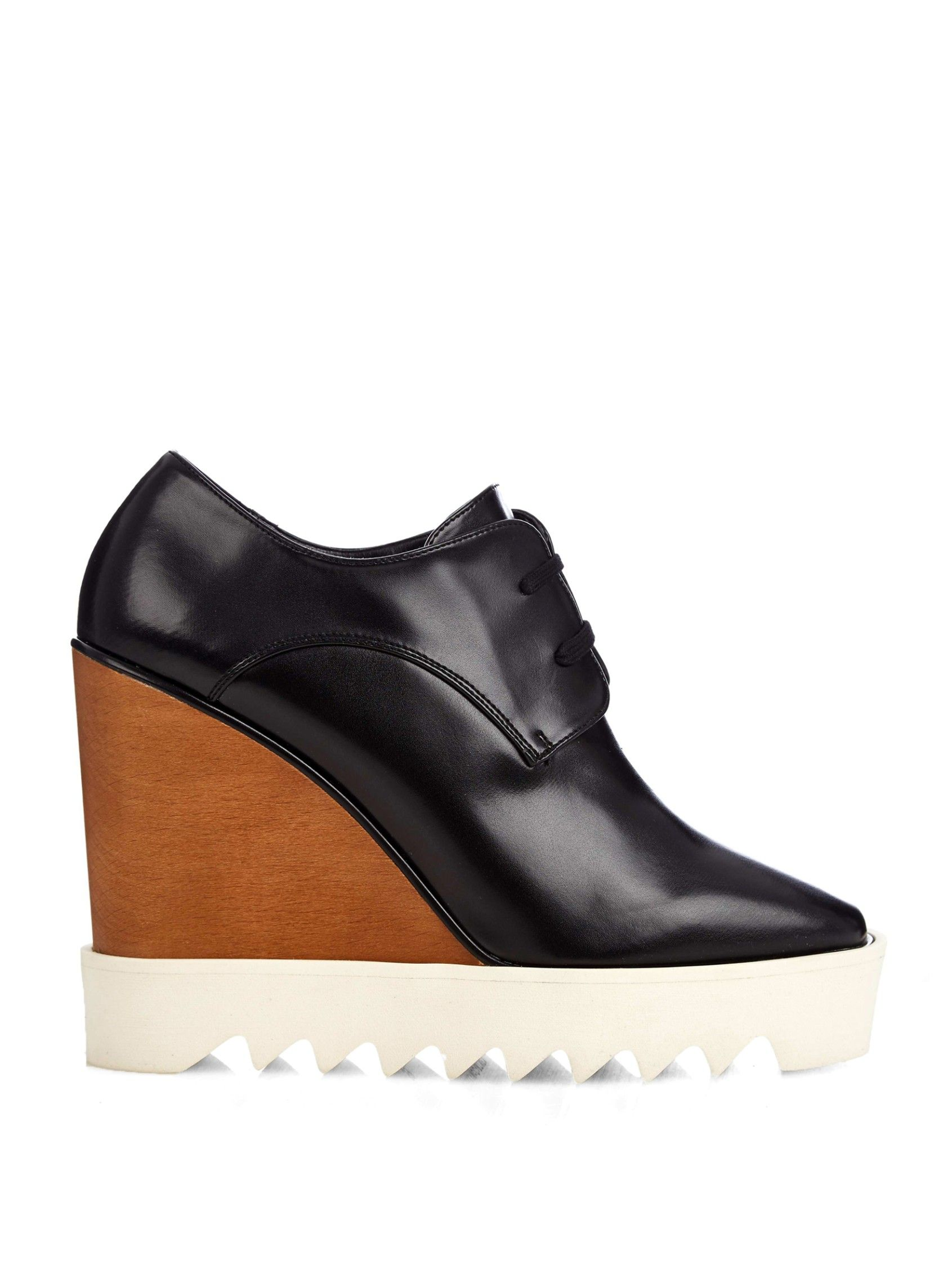 Stella McCartney Faux Leather Wedge