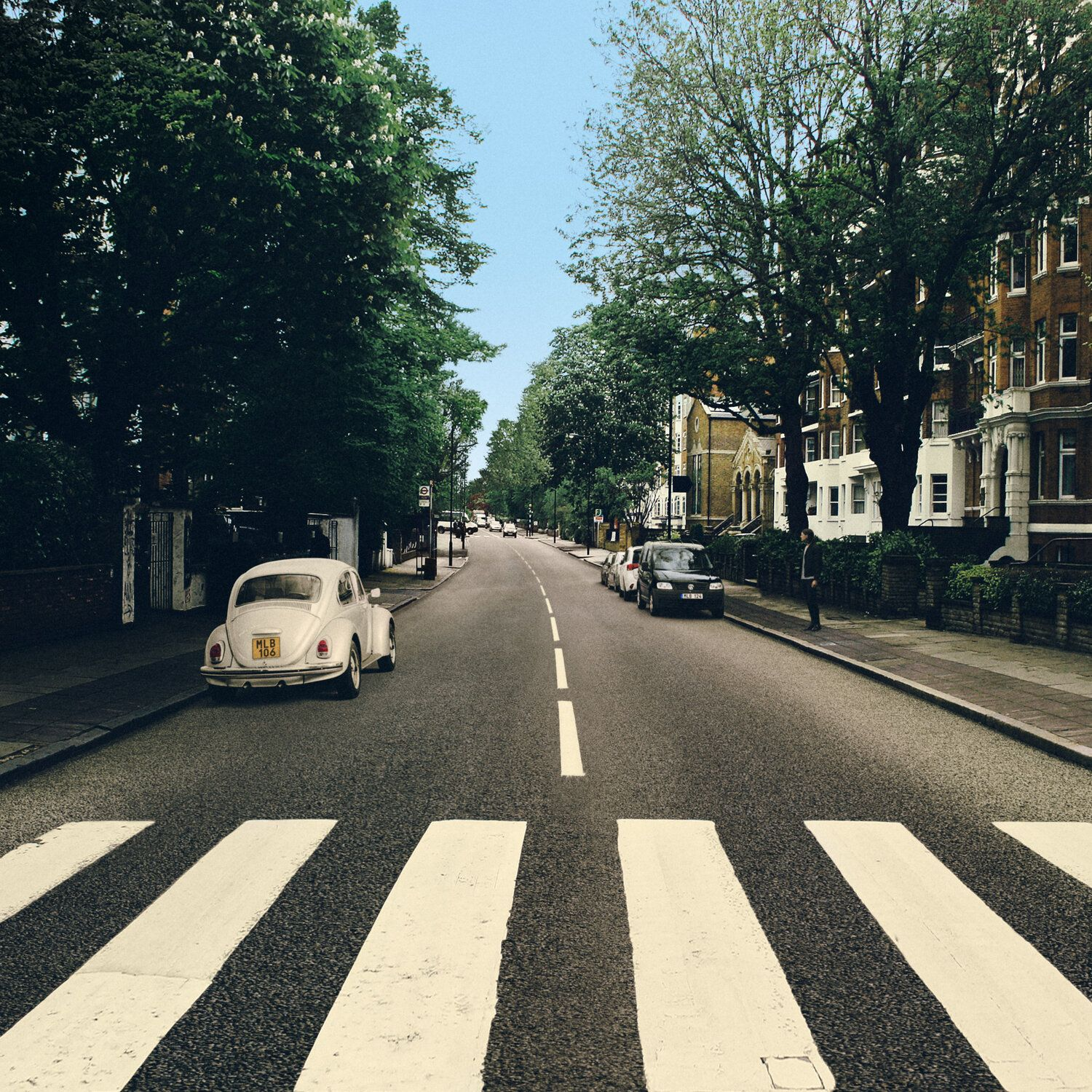 The Beetle S Abbey Road Reparked Edition Abbey Road Music Cover Photos Cover Pics