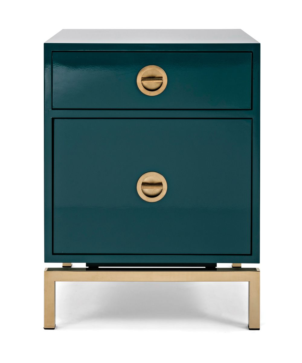 Nightstand Or End Table The 26 Inch High Claire Lacquer Chest