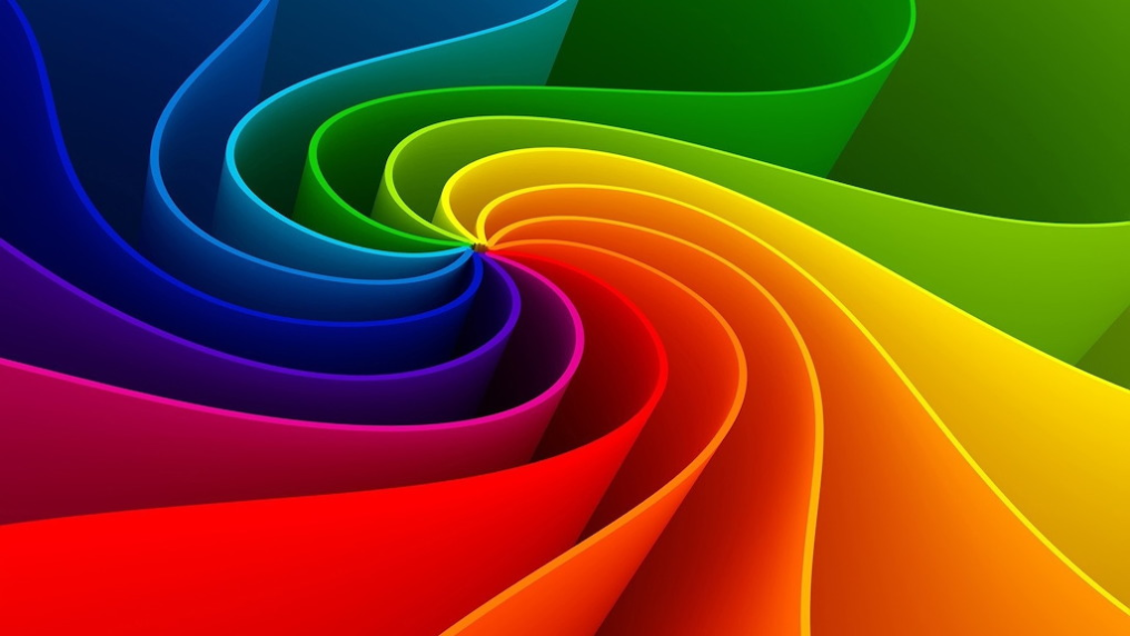 Amazing Abstract Rainbow Wallpaper Hd 1080p Jigsaw Puzzle 300