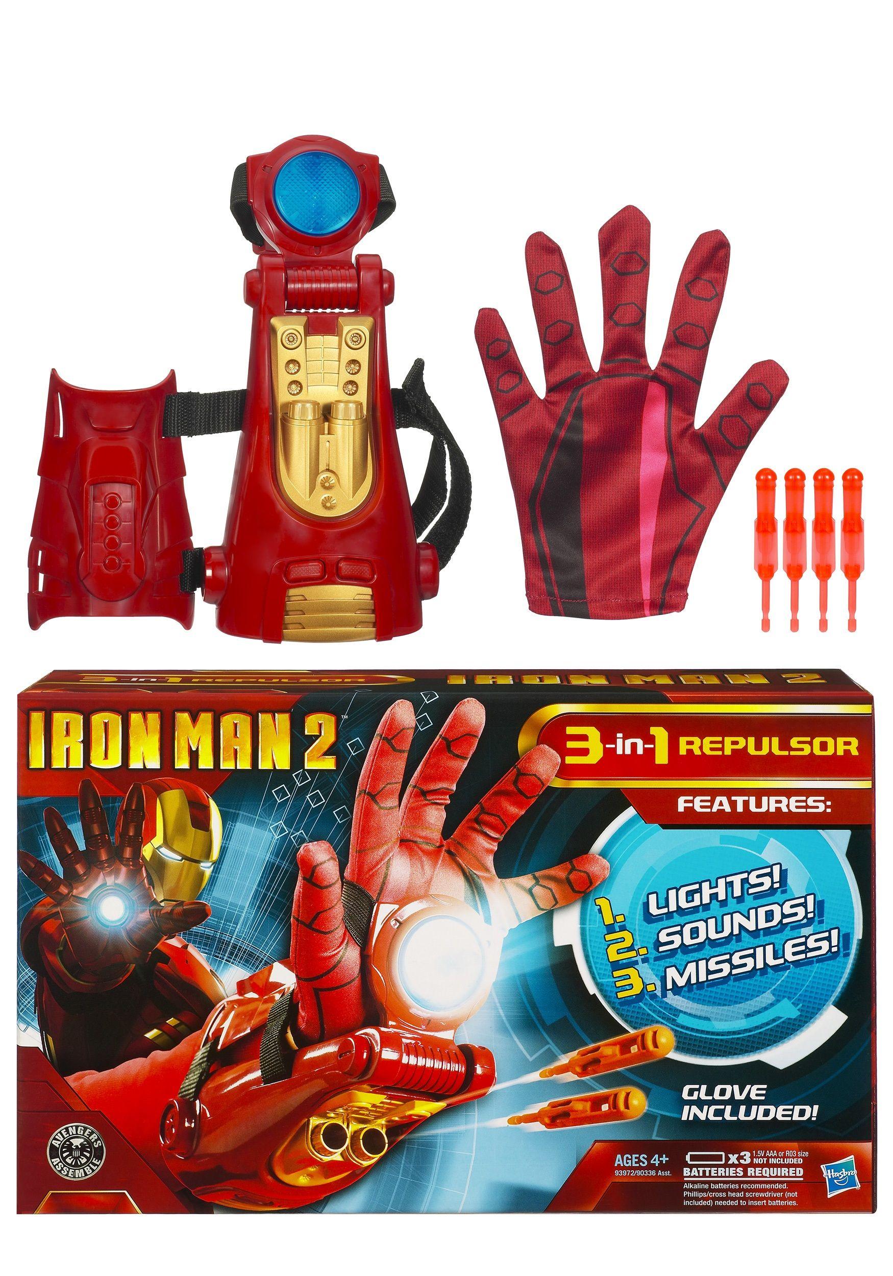 Kids Iron Man Repulsor Toy Iron Man Toys Costume Accessory