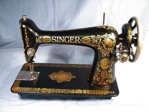 Vintage 40 Singer 40 Red Eye Treadle Sewing Machine Vintage Adorable Singer Sewing Machine 1911 Value