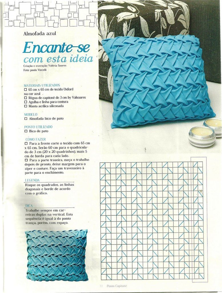 Pillows poufs DIY tutorial   houma   Canadian smocking, Smocking