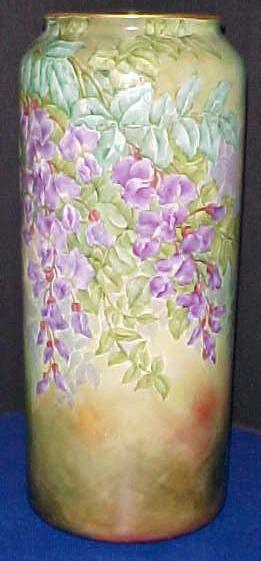 Willets Belleek Huge Wisteria Vase 120000 C1897 1912 Belleek