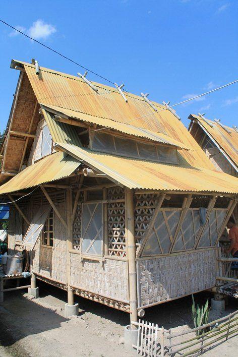 Bamboo House Design Ideas: Bamboo Prefab In Indonesia., Muntilan, 2010