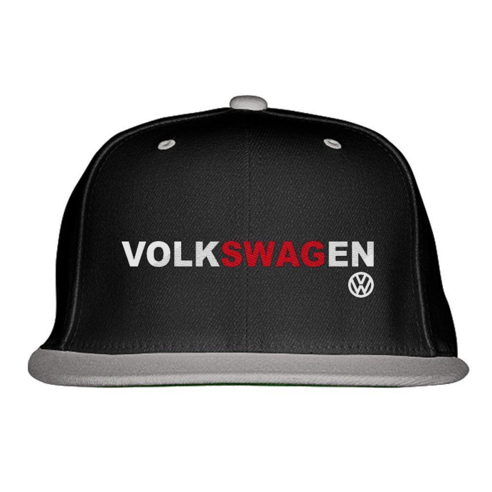 f50466ff542 Volkswagen SWAG Embroidered Snapback Hat