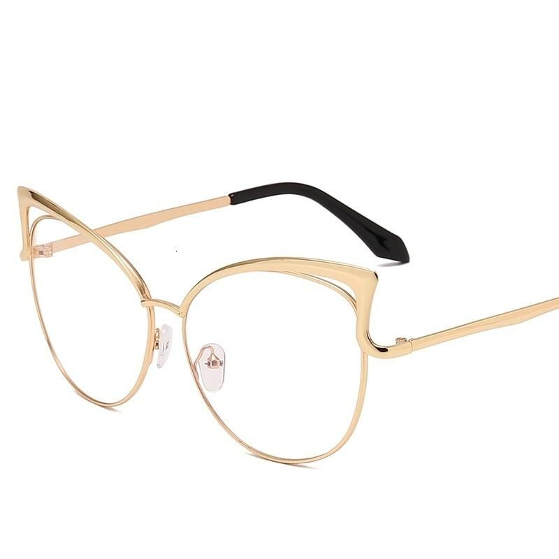 Photo of Women New Brand Designer Metal Frame Mirror Rose Gold Sunglasses UV400