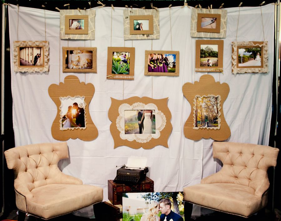 Wedding Expo Booth Ideas: Bridal Expo Booth Idea - How Simple And Cheap!