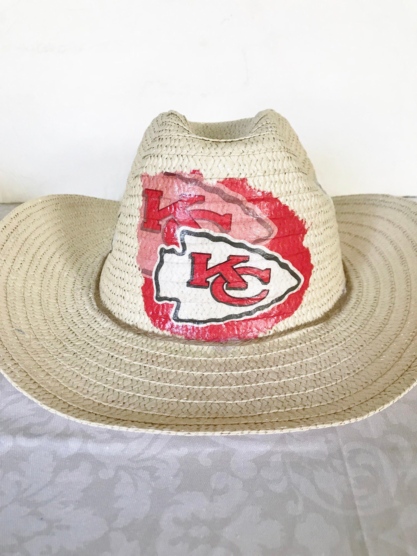 Kansas City Chiefs Straw Hat, Kansas City Chiefs Cowboy