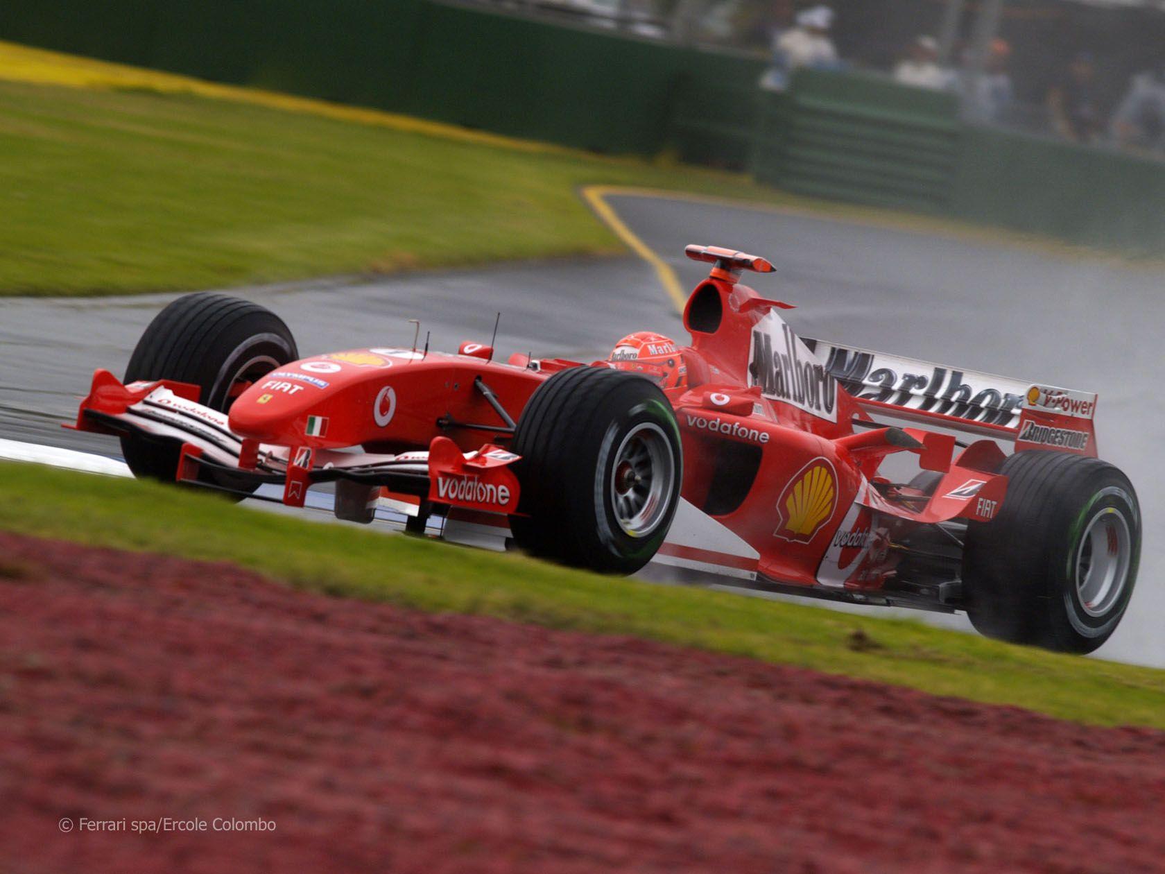Michael Schumacher, Ferrari F2005, Melbourne, 2005 | Ferrari, Michael  schumacher, Schumacher