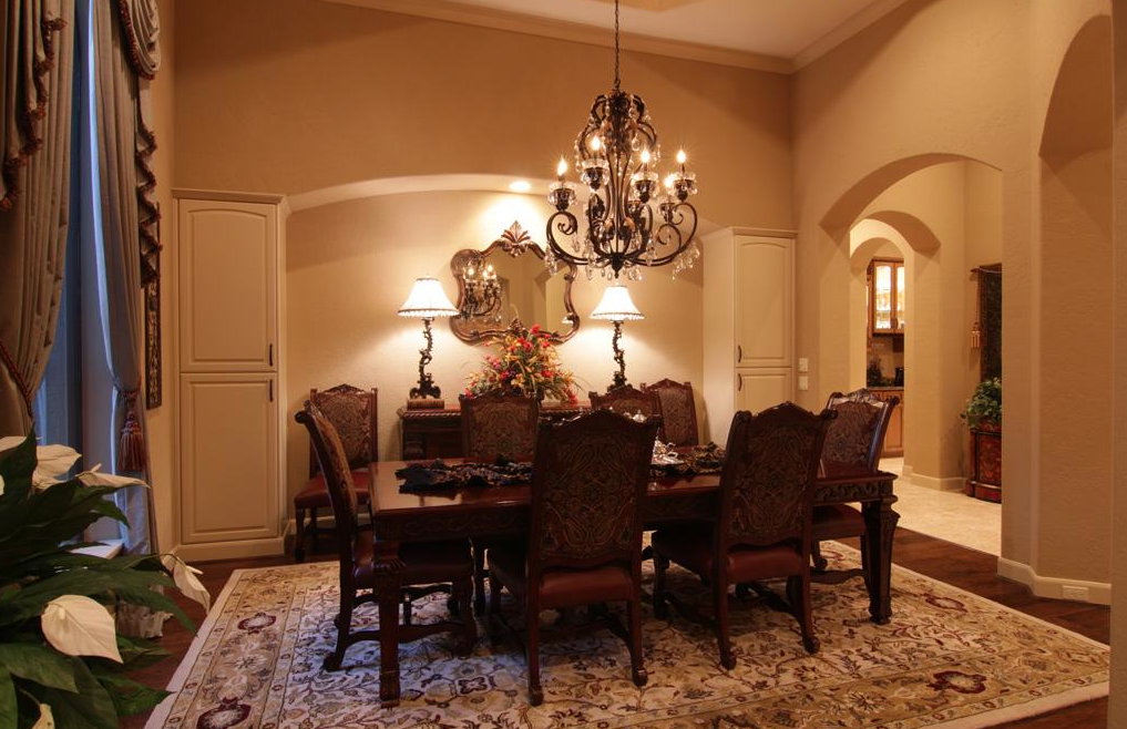 Tuscan Lighting Dining Room - Home Design Ideas and Pictures