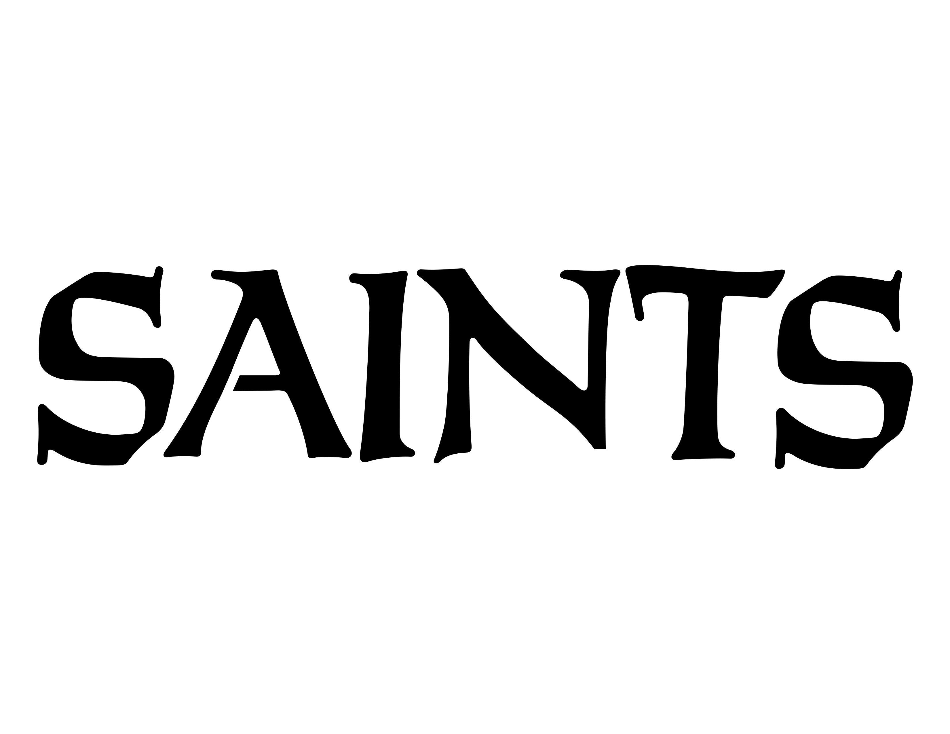 New Orleans Saints Pumpkin Stencils