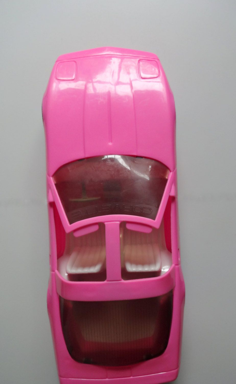 90s car toys  Vintage Pink Corvette Toy Car s  s  Pinterest  Vintage pink