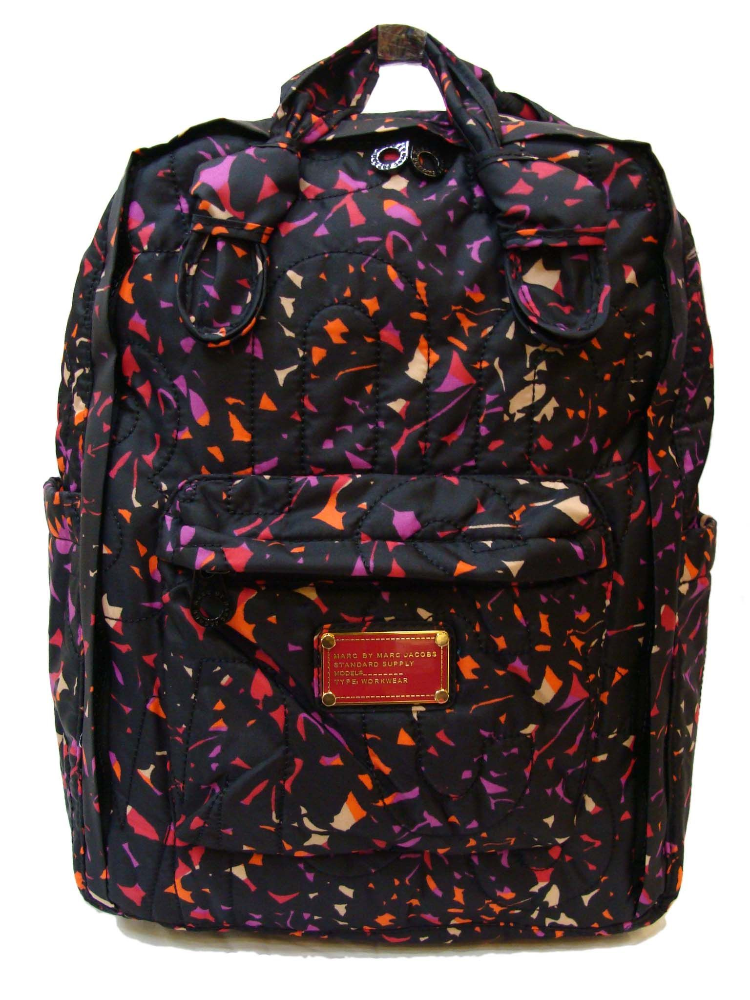 214f0ce88a70 Pretty Nylon Black Multi Knapsack Backpack - MARC JACOBS