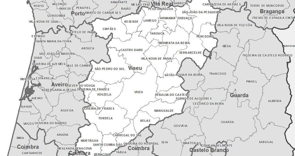 Mapa De Portugal Geografia E Turismo Das Regioes Geografia