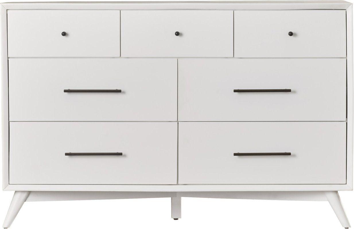 Parocela 7 Drawer Dresser Parocela Drawer Dresser A19