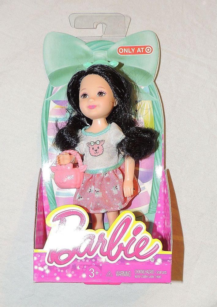 NEW Barbie Friend Chelsea Easter Basket Black Hair bd4240991