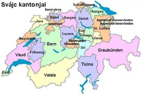svájc térkép svájc térkép   Google keresés | német | Schweiz