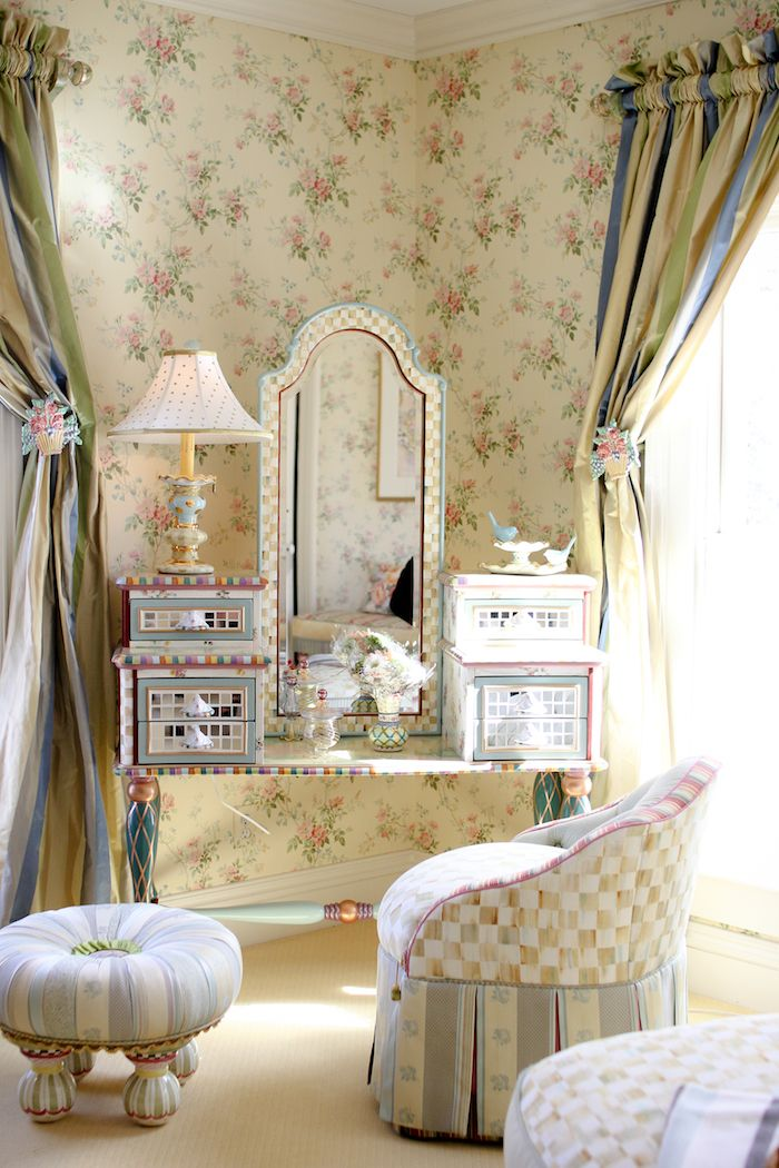 Mackenzie Childs Vanity Set | Blogger Love | Pinterest | Vanity