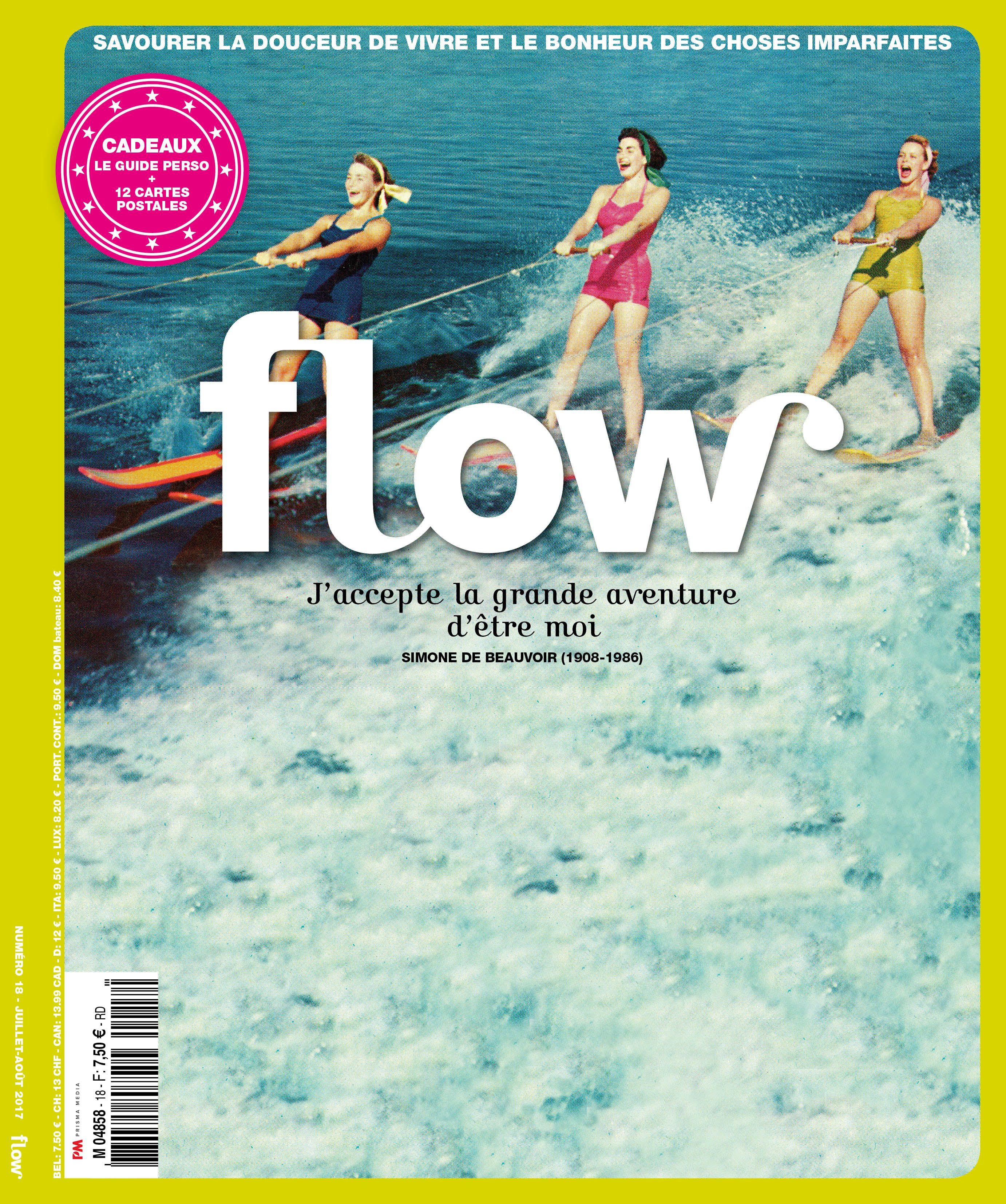 Flow France 18 Flow Magazine Carte Postale Simone De Beauvoir Flowmagazine