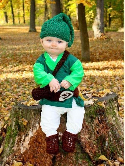 Very cute homemade baby elf costume.  sc 1 st  Pinterest & Very cute homemade baby elf costume. | wishlist | Pinterest | Baby ...