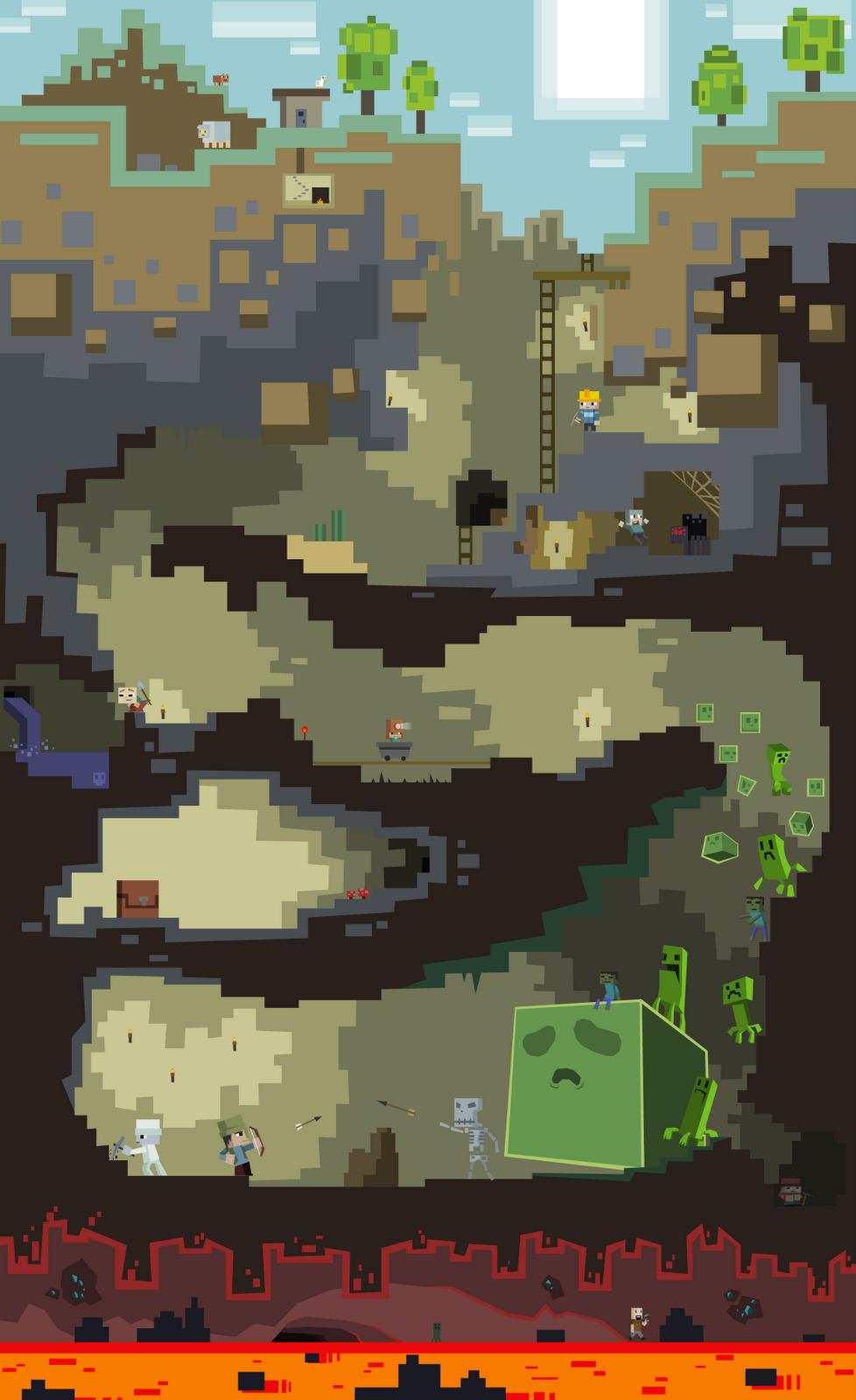 Top Wallpaper Minecraft Poster - 596aa355640a3f4c4482376acbdea63c  You Should Have_282930.png