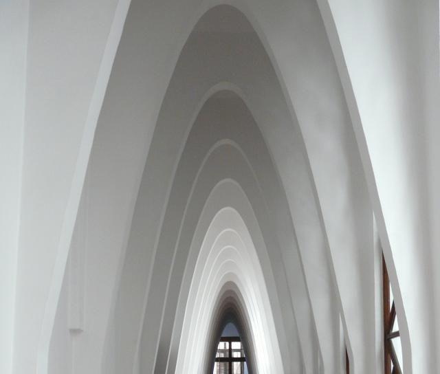 Colegio de las Teresianas, or Colegio Teresiano, by Antoni Gaudí in Barcelona