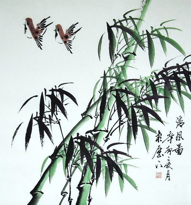 A Bamboo Painting Chinese Painting Usd 50 China Gallery