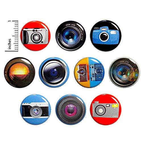 Amazon Com Photography Fridge Magnets Camera Lens Refrigerator Or Locker Magnets 10 Pack Gift Set 1 Inch 1 Photography Gifts Fridge Magnets Photographer Gifts