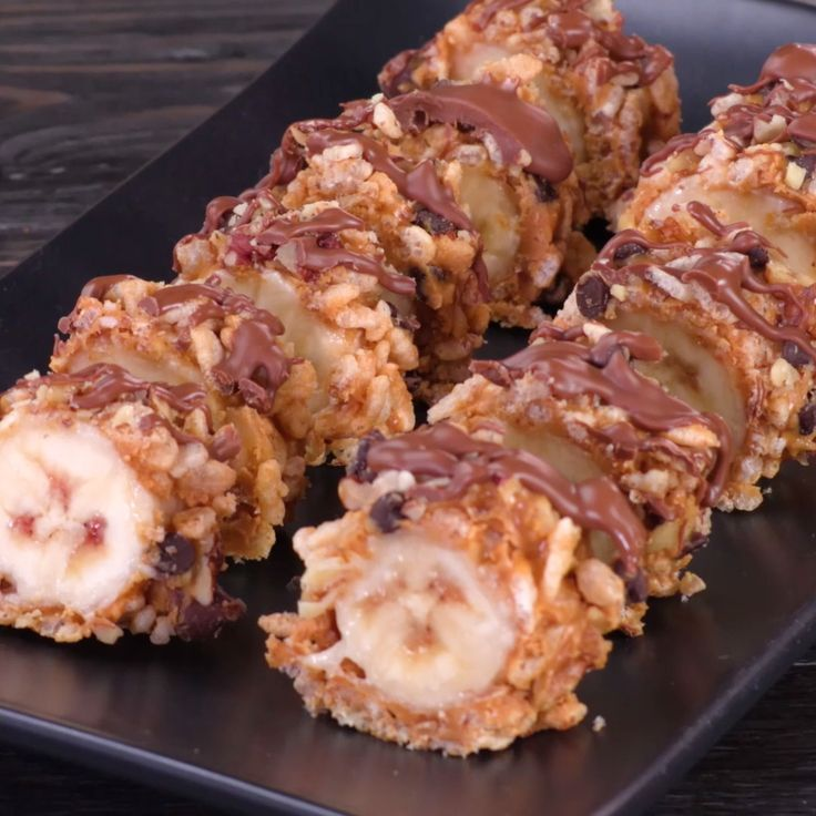 Peanut Butter Banana Breakfast Sushi