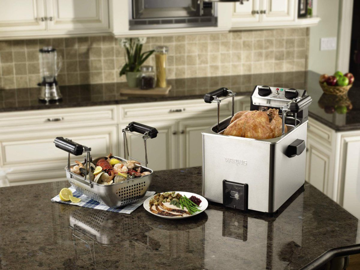 Home Waring Pro Turkey Fryer 200 Breville Espresso Machine 525