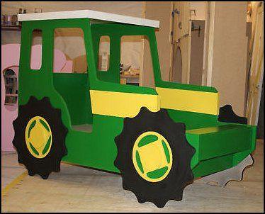 diy tractor beds   tractor+bed+john+deere+theme+bed+tractor+bed-+