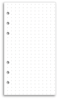 My Life All in One Place: Download and print dot grid