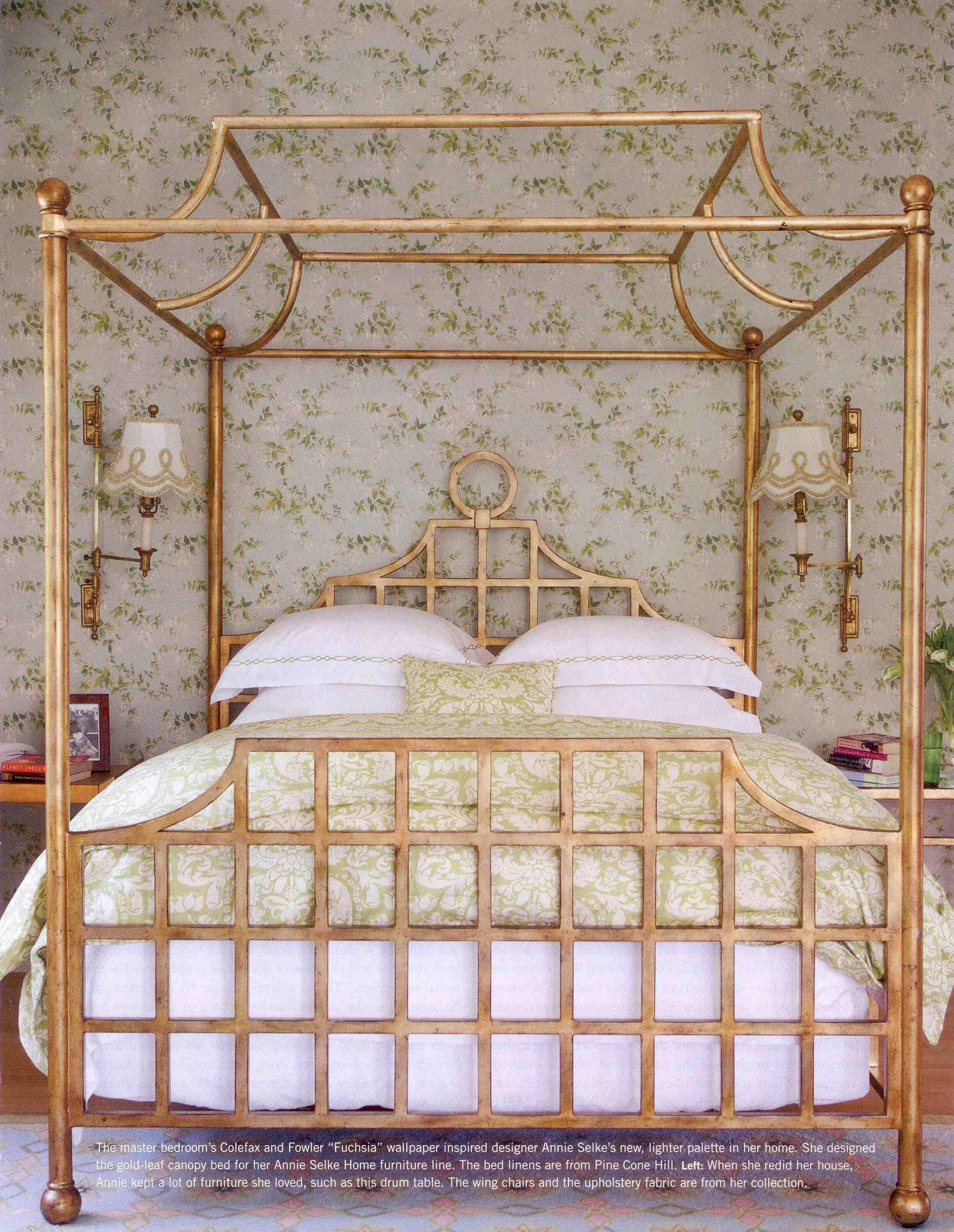 Annie Selke Home Furniture, nice bed frame Bedroom decor