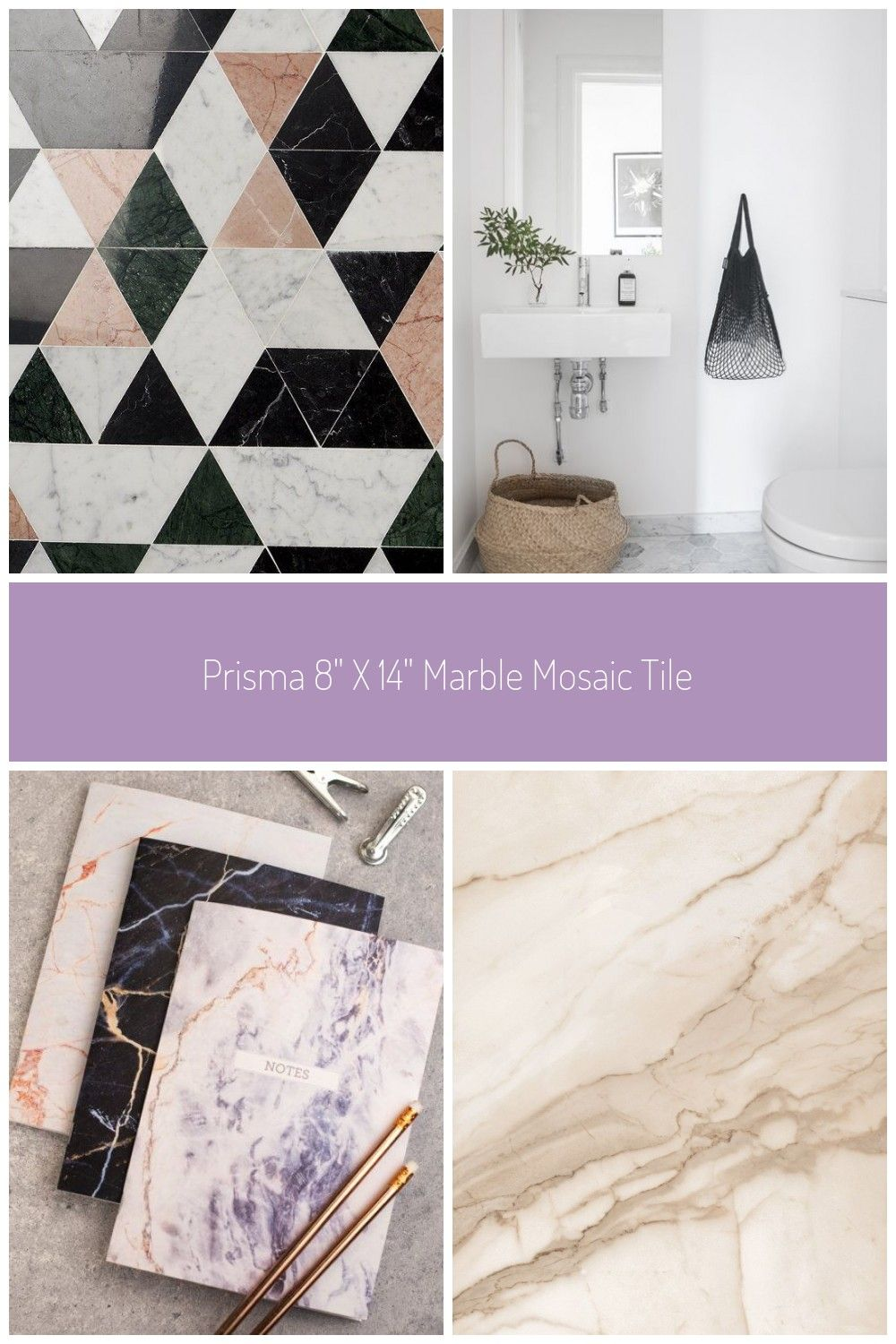 Welcome A Whole New Level Of Classy Into Your Space With The Mosaic Tile This Startlingly Handsome Marble Mosaic Tile Trio Is Sure To Shake Things Up Sophistica
