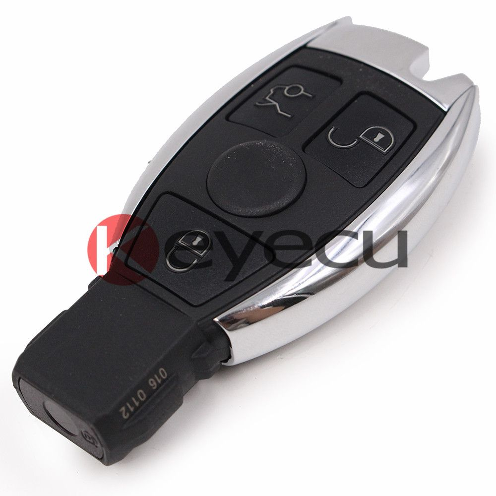 New Waterproof Uncut Remote Key Fob 3 Button 315MHz for