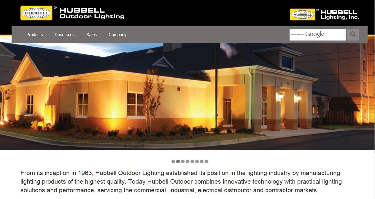 About Hubbell Outdoor Lighting Visit