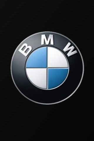 Bmw Logo In Black Background Iphone Wallpaper Download Bmw Logo