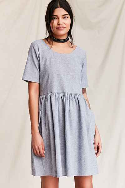 9b22c872cc Urban Renewal Remade Yarn-Dyed Babydoll Dress