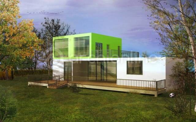 Le plan de cette maison contemporaine inspirée des maisons
