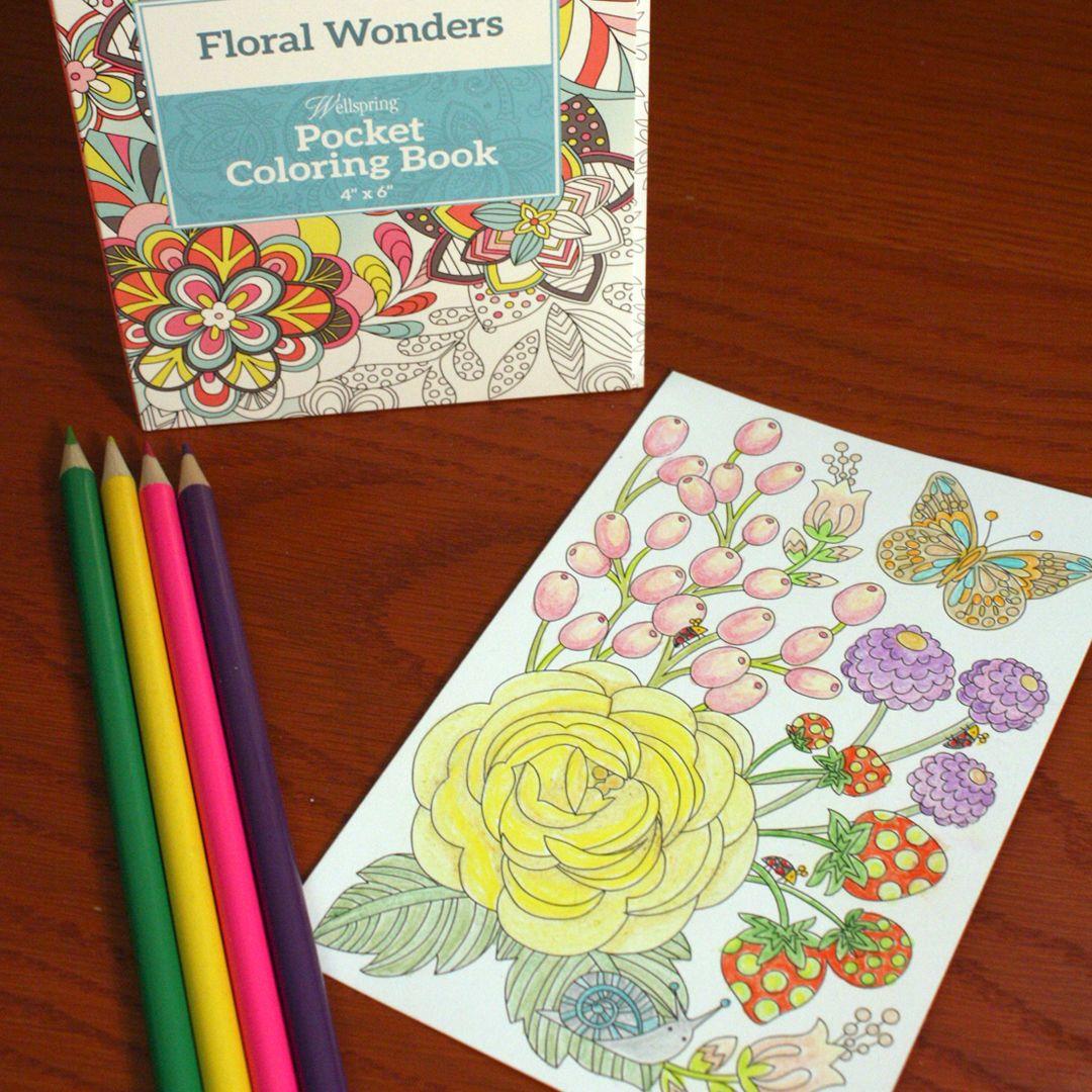Color art floral wonders - New Coloring Journal Wellspringcoloring Adultcoloring Coloring Wellspring Coloring Pinterest Journal