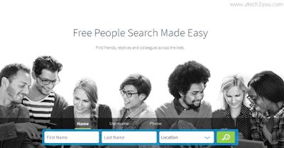 طريقة البحث عن شخص بالاسم فقط او برقم الهاتف او بالبريد الالكتروني عبر الانترنت Find People Online Free People