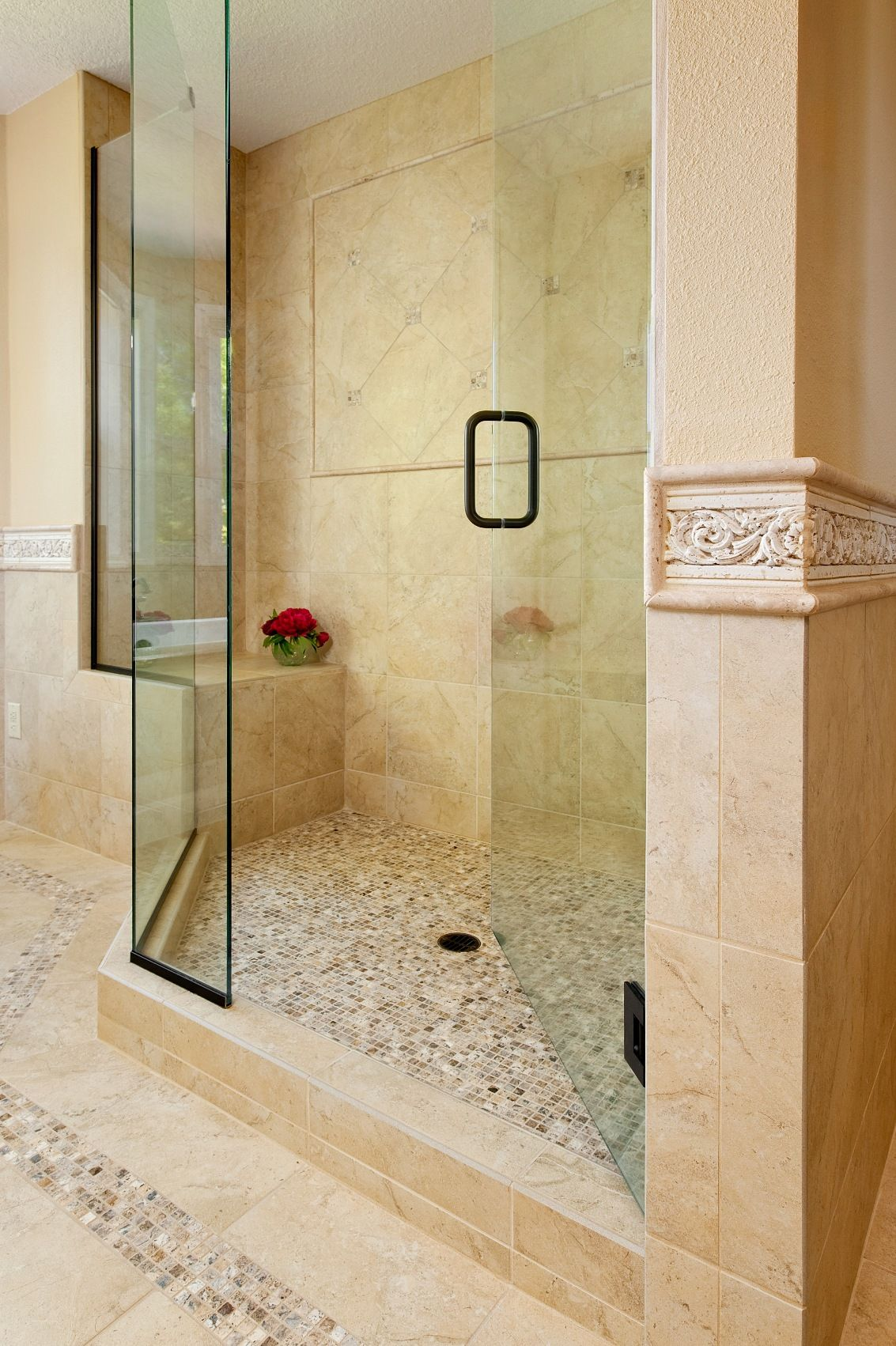 100+ Small Bathroom Ideas with Shower - Interior Paint Color Schemes ...