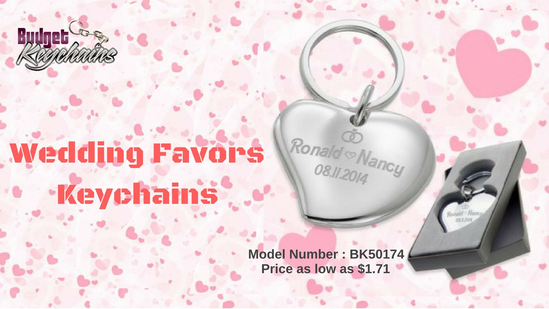 Get Fastest Turnaround Time on Personalized Wedding Keychains ...