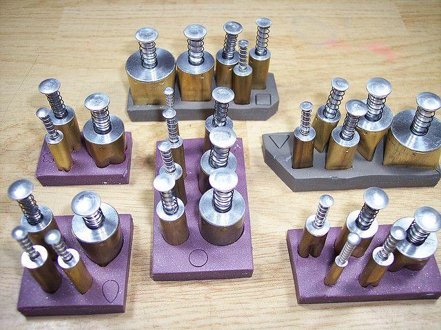 Kemper cutters organized