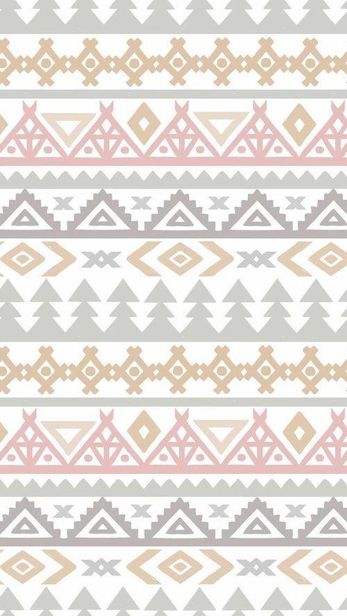 motifs ethnique aztec wallpaper
