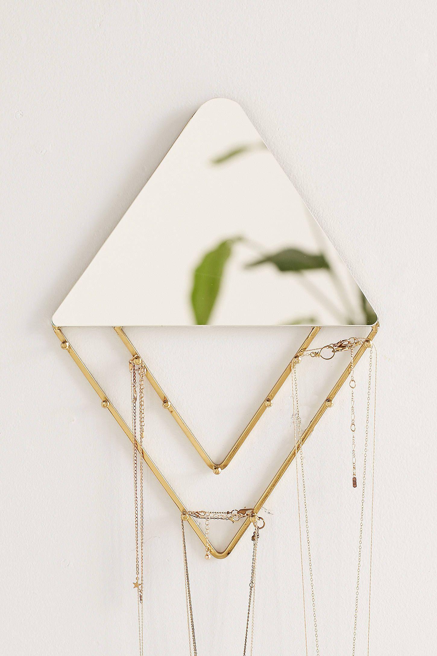 Alexia Line Jewellery Storage Hanging Mirror Jewelry storage
