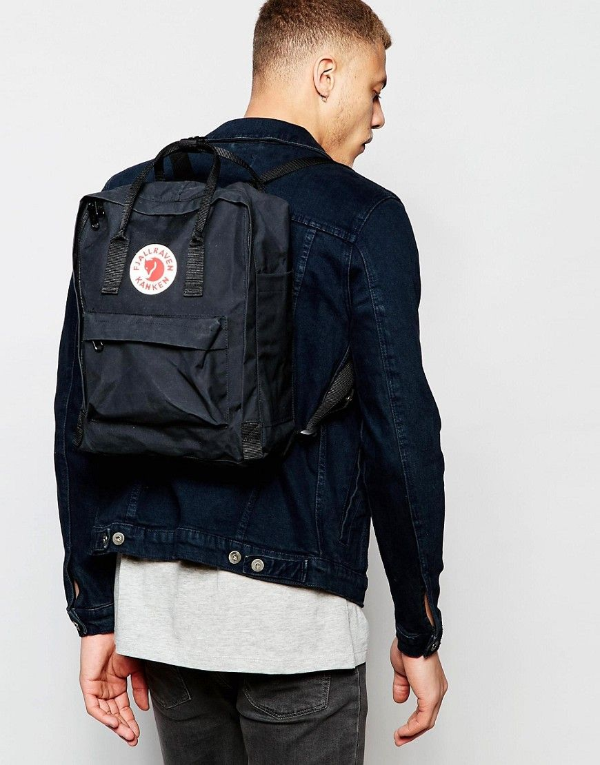 Image 3 of Fjallraven Kanken 16L Backpack In Black