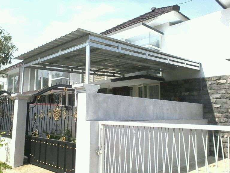 Harga Baja Ringan Murah Di Tangerang Kanopi Cisauk Selatan Kota